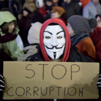 One act against corruption